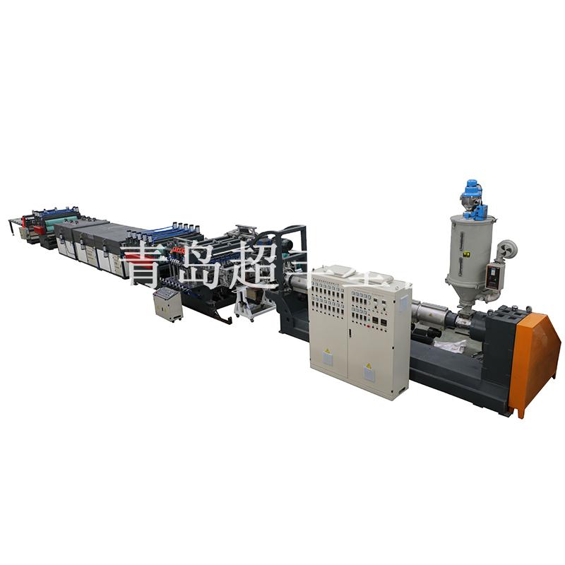 PP中空格子板生产线设备