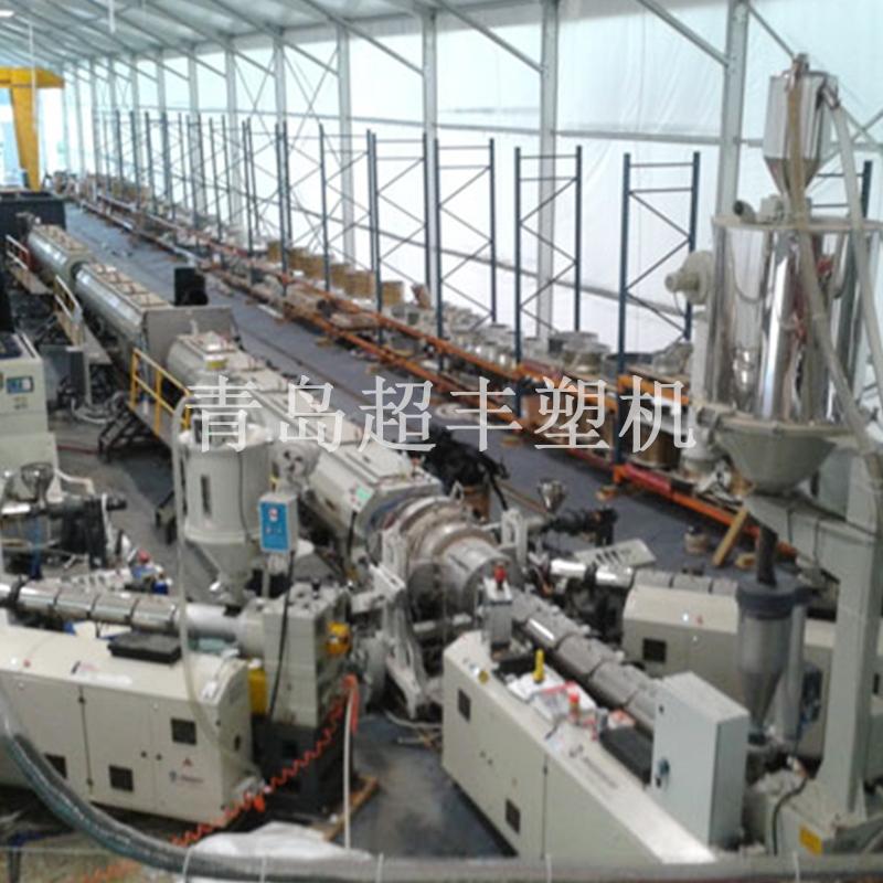 HDPE(聚乙烯)大口径给水燃气管挤出生产线