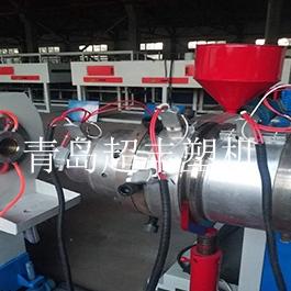 发云南的PE供水管设备,已完成试机验收