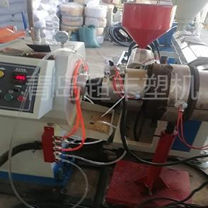PE供水管设备调剂现场